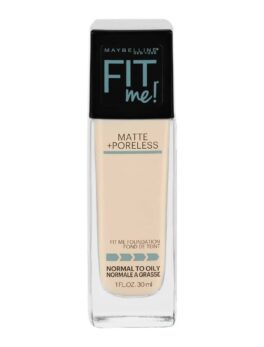 Maybelline Fit Me Matte + Poreless Foundation -110