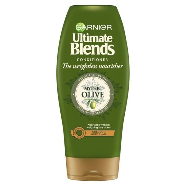 Garnier Ultimate Blends Mythic Olive Oil Conditioner in Carnesia