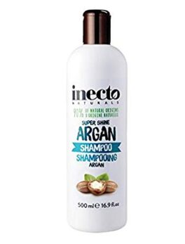 Inecto Super Shine Argan Shampoo 500ml 16.9 fl oz in Carnesia