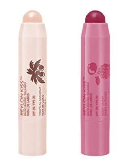 Revlon Kiss Balm Double - Tropical Coconut+Berry Burst