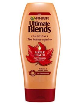 Garnier Ultimate Blends Maple and Castor Oil Conditioner 360ml in Carnesia