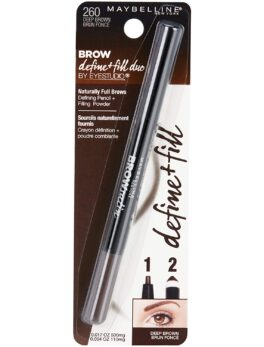 Maybelline Brow Define + Duo Deep Brown