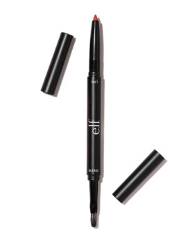 E.L.F., Lip Liner & Blending Brush, Red