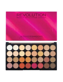 Revolution Flawless Matte 2 Eyeshadow Palette in carnesia