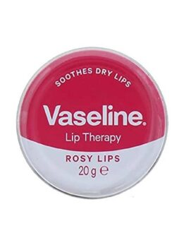 Vaseline Petroleum Jelly Lip Therapy With Rose in Carnesia
