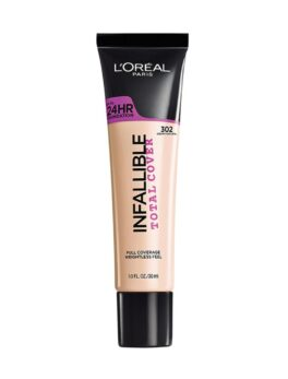 L'Oreal Infallible Total Cover Foundation - 302