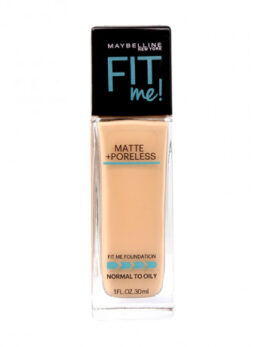 Maybelline Fit Me Matte+Poreless Foundation-125