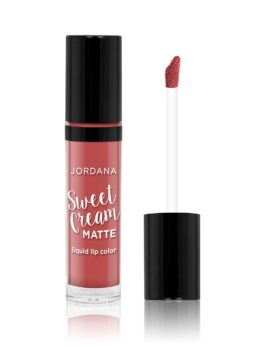 Jordana Sweet Cream Matte Liquid Lip Color - 07 Tiramisu