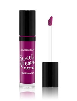 Jordana Sweet Cream Matte Liquid Lip Color - 10 Sugared Plum