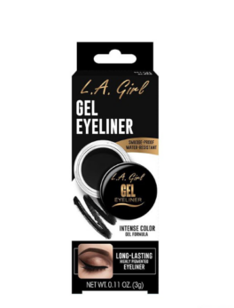 La Girl Gel Eyeliner Jet Black