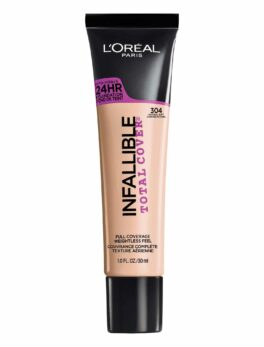 L'Oreal Infallible Total Cover Foundation - 304