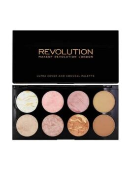 Revolution Golden Sugar Blush Palette in Carnesia