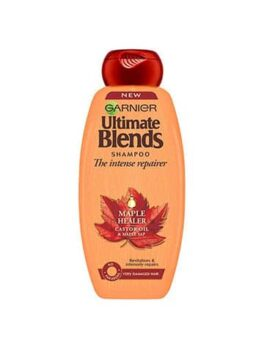 Garnier Ultimate Blends Shampoo Castor Oil & Maple Sap in Carnesia
