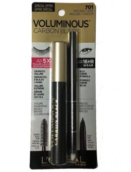 L'Oreal Voluminous Carbon Black Mascara+Liner701