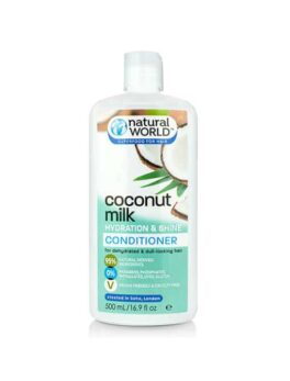 Natural World Coconut Water Conditioner in Carnesia
