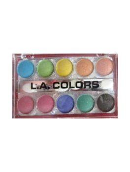 L.A Colors Glitering Eyeshadow Gp85 in carnesia