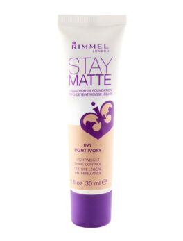 Rimmel Stay Matte Mousse Liquid Foundation - 091