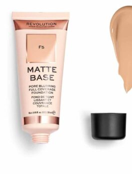 Revolution Matte Base Full Coverage Foundation F5