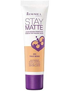 Rimmel Stay Matte Mousse Liquid Foundation - 203