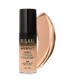 Milani Conceal+Perfect 2 In 1 Foundation - 04 Medium Beige in Bangladesh
