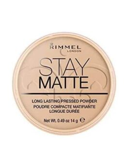 Rimmel Stay Matte Pressed Powder - Silky Beige (005) in Carnesia