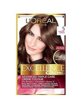 L'Oreal Paris Excellence Creme 5 Natural Brown