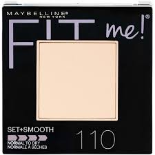 Maybelline Fit Me Set+Smooth Pressed Powder 110 in Carnesia