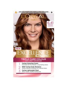 L'Oreal Paris Excellence Creme 6.41 Natural Hazelnut in Carnesia