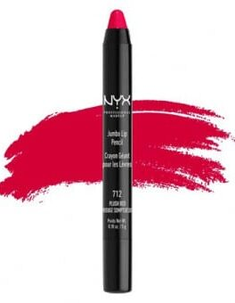 NYX Jumbo Lip Pencil - Plush Red