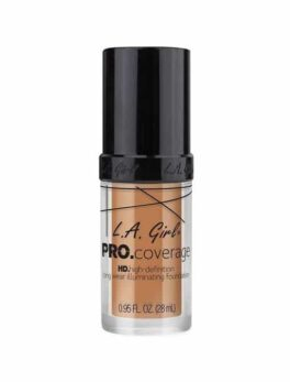 L.A girl Pro Coverage Hd Foundation - SOFT HONEY 648