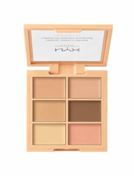 NYX Conceal Correct Contour Palette Light (3CP01) in Carnesia