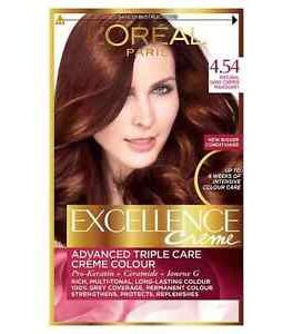 L'Oreal Paris Excellence Creme Excellence Creme 4.54 Natural Drak Copper
