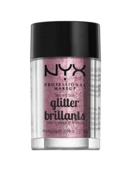 NYX Professional Makeup Face & Body Glitter Rose in Carnesia