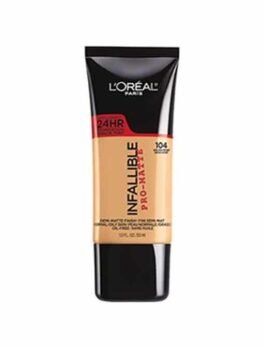 Loreal Pro Matte Foundation-304 in Carnesia