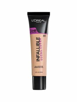Loreal Infalibale Total Cover Foundation 107 in Carnesia