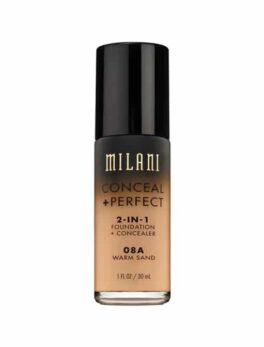 Milani Conceal+Perfect 2 In 1 Foundation - 08A Warm Sand in Carnesia