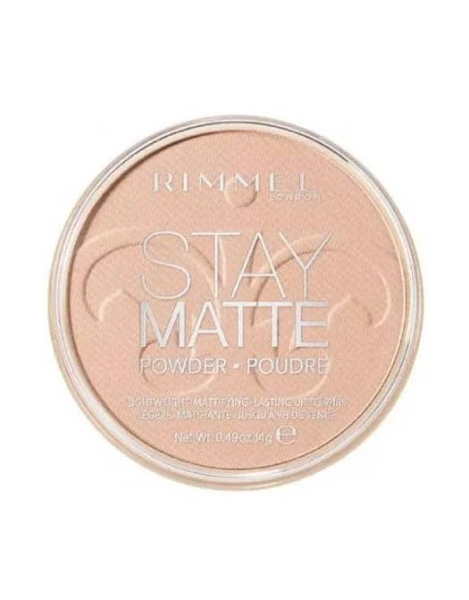 Rimmel Stay Matte Pressed Powder -Peach Glow (003 in Carnesia