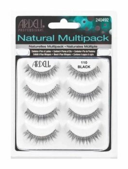 Ardell Natural Multipack Eyelash-110 Black in Carnesia