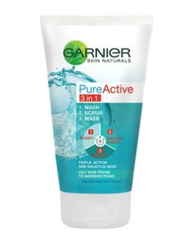 Garnier Pure Active 3in1 Clay Face Wash