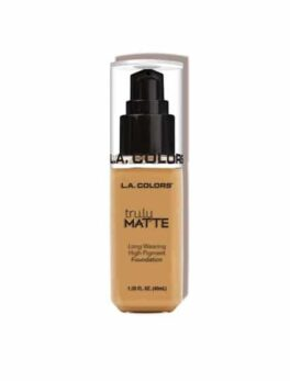 L.A.Colors Truly Matte Foundation-Clm357 Golden Beige