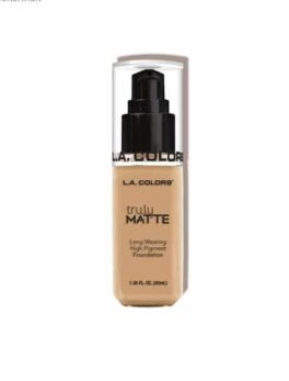 L.A. Colors Truly Matte Foundation Clm352 Natural
