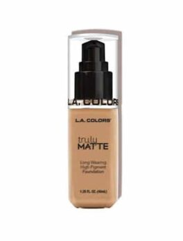 L.A. Colors Truly Matte Foundation-Clm353 Nude