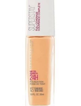 Maybelline Super Stay 24h Foundation-127 Sand Beige