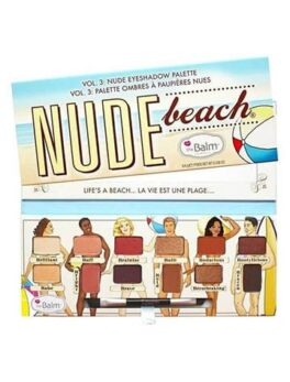 The Balm Eyeshadow Palette Nude Beach