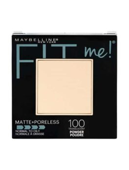 Maybelline Fit Me Matte + Porless Pressed Powder-100 in Carnesia