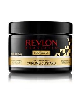 Revlon Realistic Black Seed Oil Strengthening Curling Custard