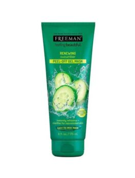 Freeman Beauty Renewing Cucumber Peel-Off Gel Mask in Carnesia