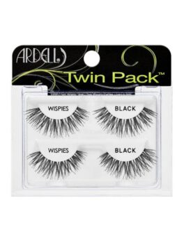 Ardell Wispies Twin Pack- Black in Carnesia