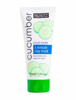 Beauty Formula Cucumber Cool Moist Clay Mask in Carnesia