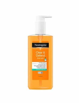 Neutrogena Clear & Defend Facial Wash in Carnesia